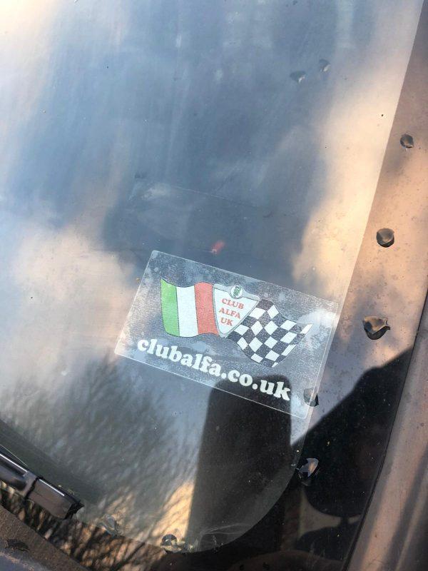 Club Alfa Sticker